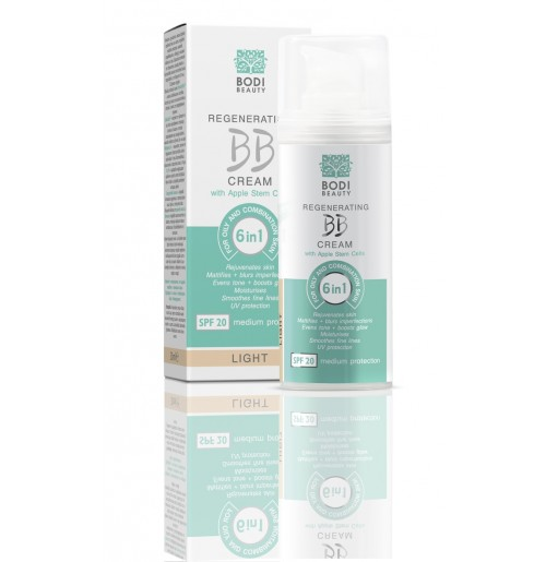BB CREAM 6 in 1 for oily and combination skin LIGHT