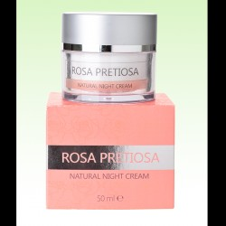 Rosa Pretiosa Natural Night Cream