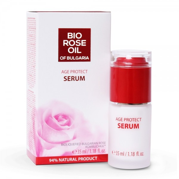 Age Protect Serum Bio Rose Oil of Bulgaria