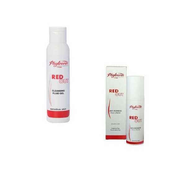 Phytocode Red Out Rosacea Natural Treatment Promo Pack