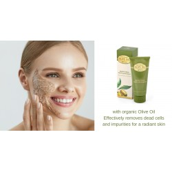 Smoothing Face Exfoliant Olive Oil of Greece Biofresh