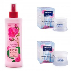 Beauty Set with Rose water Yoghurt of Bulgaria