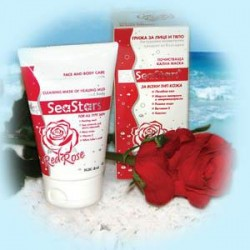 RED ROSE CLEANING MASK OF HEALING MUD