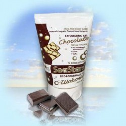 CHOCOLATE EXFOLIATING GEL
