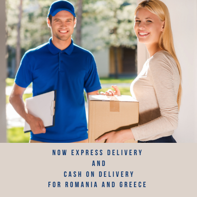 Cash on Delivery to Greece and Romania Express dalivery