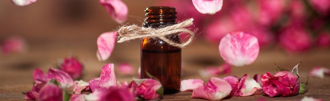 Bulgarian cosmetic with rose oil