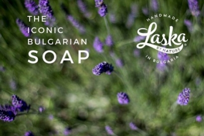100% natural and handmade Bulgarian Soap Laska by Nature