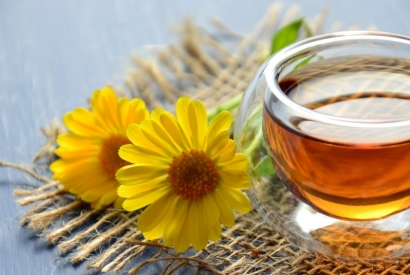 Pamper yourself with a homemade honey face mask.